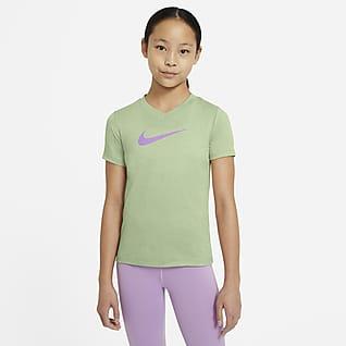 Nike Dri-FIT Big Kids' (Girls') Training T-Shirt