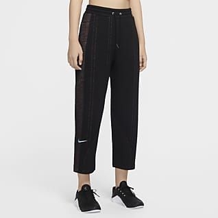 Nike City Ready Pantalons de teixit Fleece d'entrenament - Dona