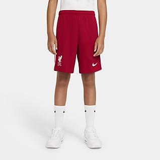 Liverpool FC 2020/21 Stadium - Home/Away Shorts da calcio - Ragazzi