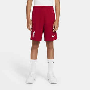Liverpool FC 2020/21 Stadium - Home/Away Shorts da calcio - Ragazzi