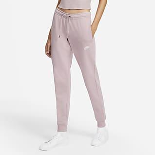 Nike Sportswear Essential Calças de lã cardada para mulher