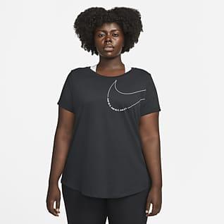 Nike Dri-FIT Women's Boxy Training T-Shirt (Plus Size)