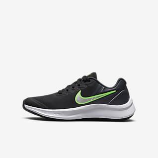 Nike Star Runner 3 รองเท้าวิ่งโร้ดรันนิ่งเด็กโต