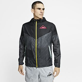 Nike Windrunner Chamarra de trail running con capucha para hombre