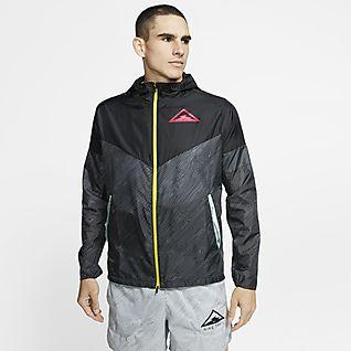 Nike Windrunner Löparjacka med huva för män
