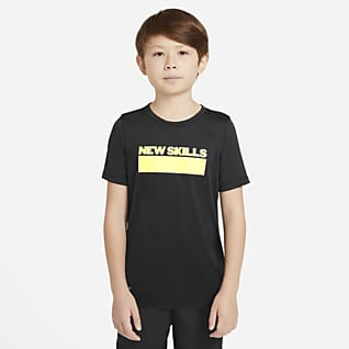 Nike Dri-FIT Trænings-T-shirt til store børn (drenge)