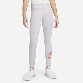 Nike Air Favorites Leggins para niña talla grande