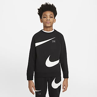 Nike Sportswear Swoosh Mikina pro větší děti (chlapce)