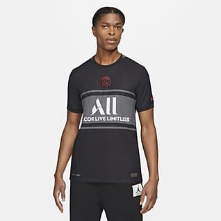Paris Saint-Germain 2021/22 Match (wersja trzecia) Męska koszulka piłkarska Nike Dri-FIT ADV