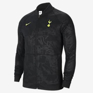 Tottenham Hotspur Herren-Fußballjacke mit durchgehendem Reißverschluss