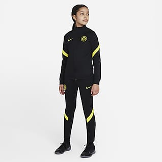Chelsea F.C. Strike Older Kids' Nike Dri-FIT Football Tracksuit