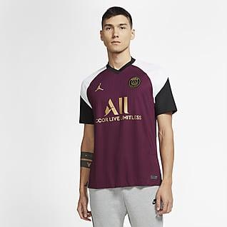 2020/21 赛季巴黎圣日耳曼第三球衣球迷版 男子足球球衣