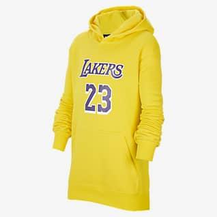 Los Angeles Lakers Essential Sweat à capuche Nike NBA pour Enfant plus âgé