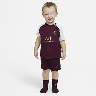 Paris Saint-Germain 2020/21 (wersja trzecia) Strój piłkarski dla niemowląt/maluchów