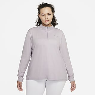 Nike Haut de running à demi-zip pour Femme (grande taille)