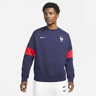 FFF Crewtrøje i fleece til mænd