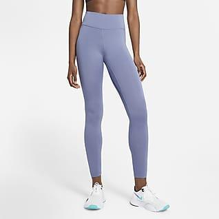 Nike One Tight med mellanhög midja för kvinnor
