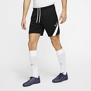 "Nike Mens Academy Soccer Football Performance 18/"" Navy Shorts SIZE L $25"