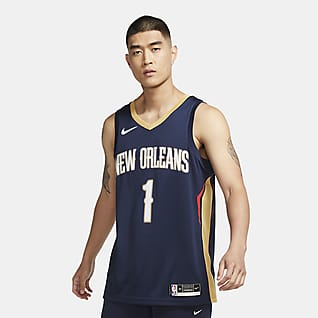 Zion Williamson Pelicans Icon Edition 2020 Swingman Nike NBA-jersey