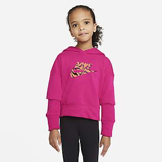 Nike Sportswear Kort hettegenser til store barn (jente)