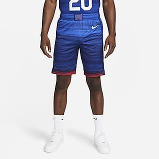 Nike Team USA Authentic (Road) Shorts de básquetbol para hombre