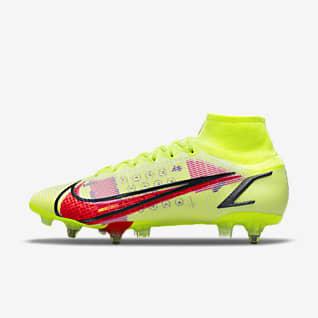 Nike Mercurial Superfly 8 Elite SG-Pro AC Fußballschuh für weichen Rasen