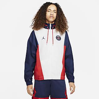Paris Saint-Germain Мужская нейлоновая куртка с капюшоном