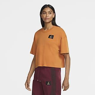 Jordan Essential เสื้อยืดแขนสั้นทรงหลวมผู้หญิง