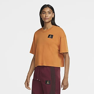 Jordan Essentials Women's Short-Sleeve Boxy T-Shirt