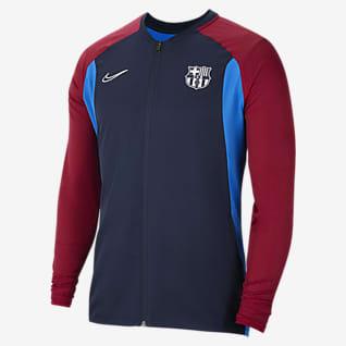 FC Barcelona Academy Chamarra de fútbol para hombre