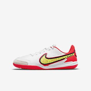 Nike Jr. Tiempo Legend 9 Academy IC Zaalvoetbalschoen voor kleuters/kids