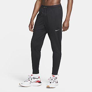 Hombre Negro Pantalones y mallas. Nike ES