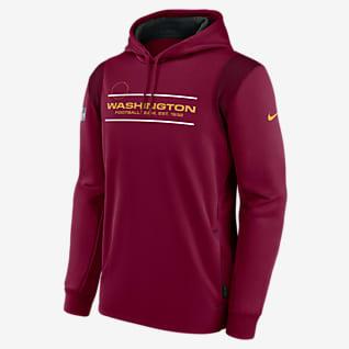 Nike Therma Sideline (NFL Washington Football Team) Men's Pullover Hoodie