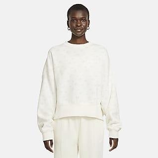 Nike Sportswear Women's Fleece Printed Crew