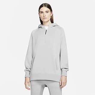 Nike ESC Γυναικεία πλεκτή μπλούζα με κουκούλα