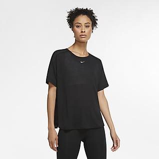 Nike Pro AeroAdapt Γυναικεία κοντομάνικη μπλούζα