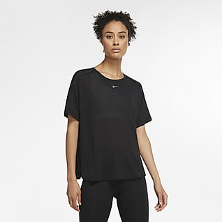 Nike Pro AeroAdapt Damska koszulka z krótkim rękawem