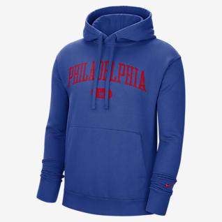 Philadelphia 76ers Heritage Sudadera con capucha sin cierre Nike NBA para hombre