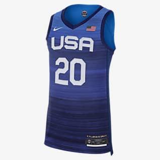 USA (Road) Authentic Jersey de Nike Básquetbol para hombre