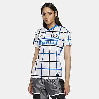 Inter de Milán de visitante Stadium 2020/21 Camiseta de fútbol para mujer