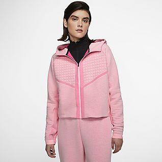 Nike Sportswear City Ready Damesjack van fleece met rits over de hele lengte
