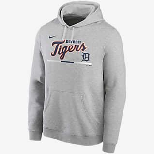 Nike Color Bar Club (MLB Detroit Tigers) Men's Pullover Hoodie