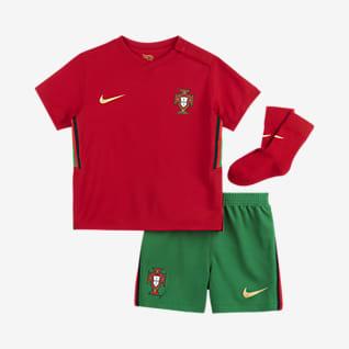 Домашняя форма сборной Португалии 2020 Футбольный комплект для малышей