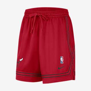 Chicago Bulls Courtside Nike NBA-Shorts für Damen