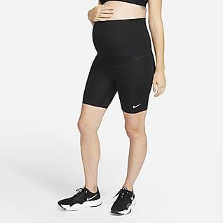 Nike One (M) Dri-FIT Damesshorts van 18 cm (zwangerschapskleding)