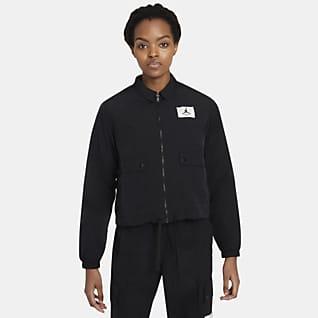 Jordan Essentials Dokuma Kadın Ceketi
