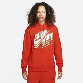 Jordan Jumpman Ανδρικό φλις φούτερ με κουκούλα