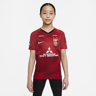 Urawa 2020 スタジアム ホーム ジュニア サッカーユニフォーム