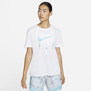 Nike Dri-FIT Swoosh เสื้อยืดบาสเก็ตบอลผู้หญิง