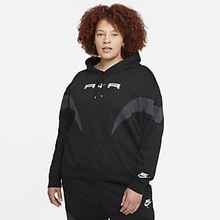 Nike Air Sudadera con gorro para mujer (talla grande)